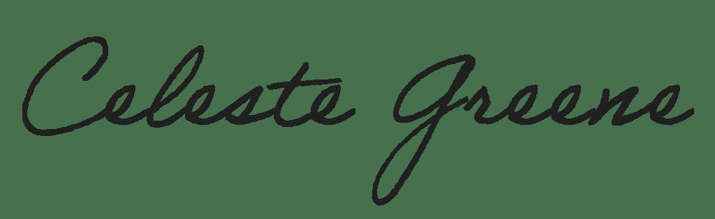 Celeste Greene Signature
